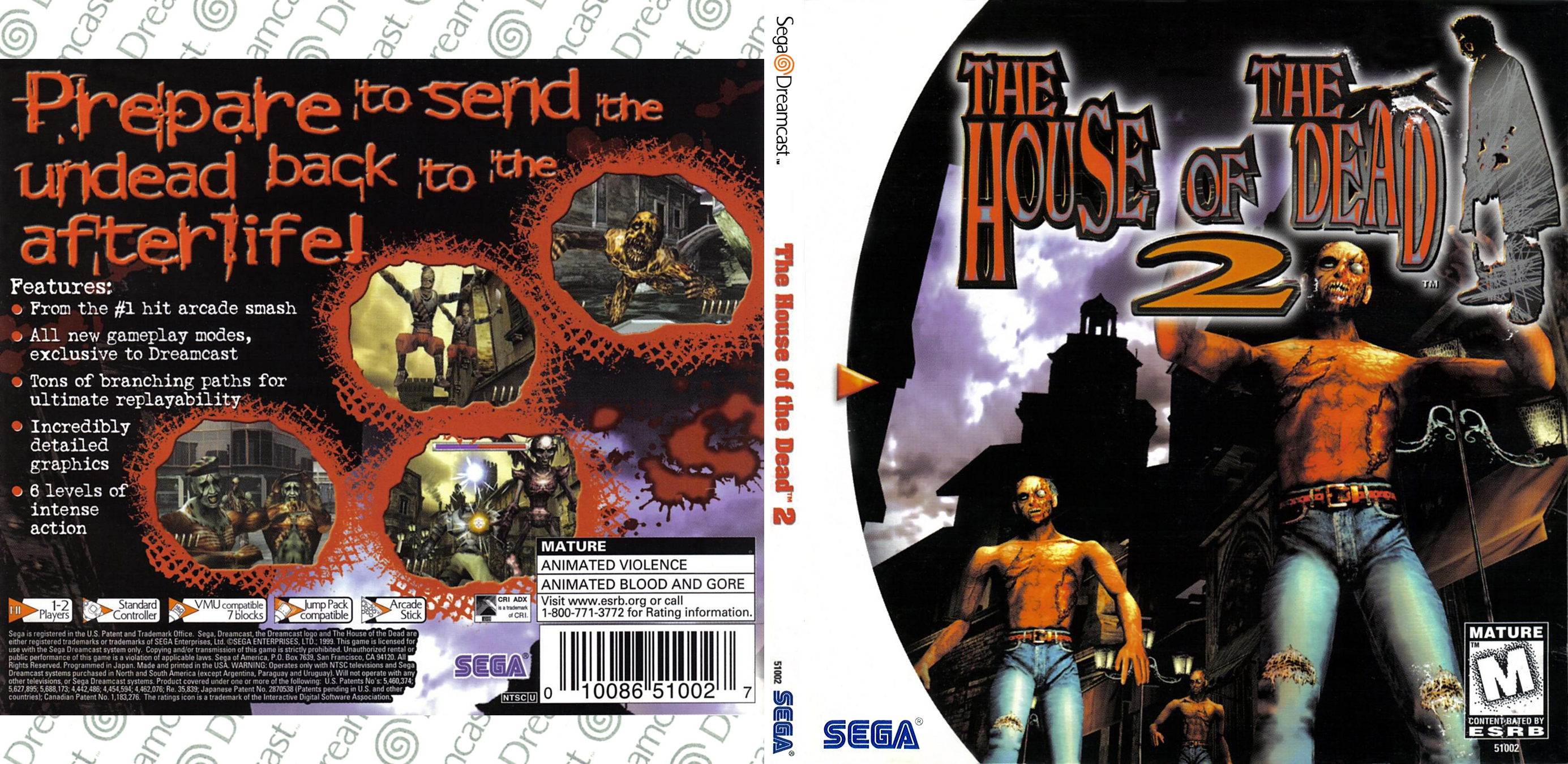 House Of The Dead 2 The Usa Iso Dc Isos Emuparadise
